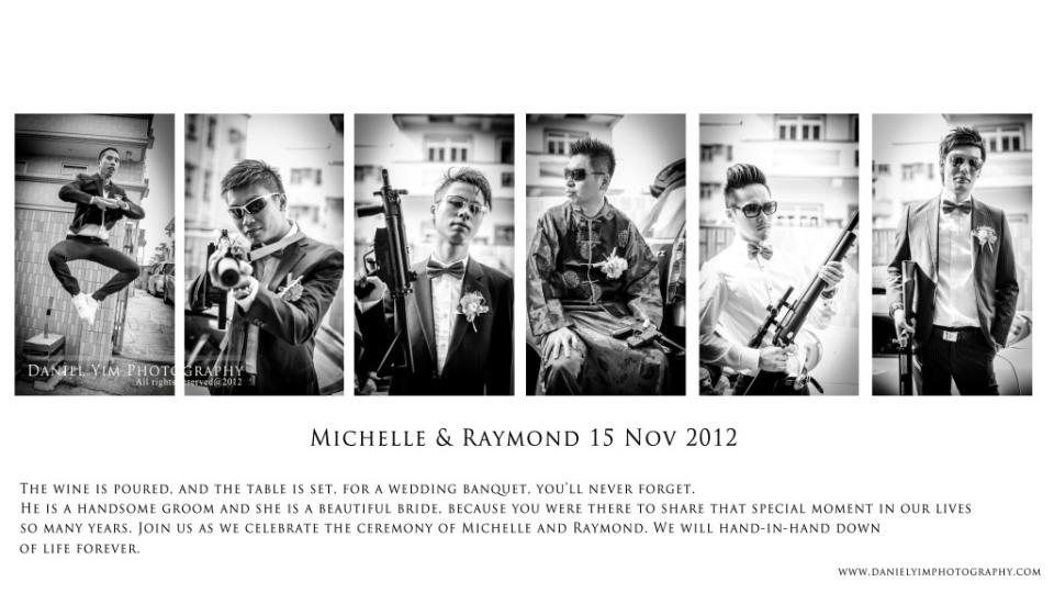 Michelle & Raymond排版1