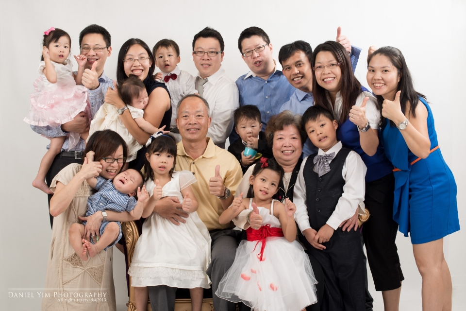 family photos排版9